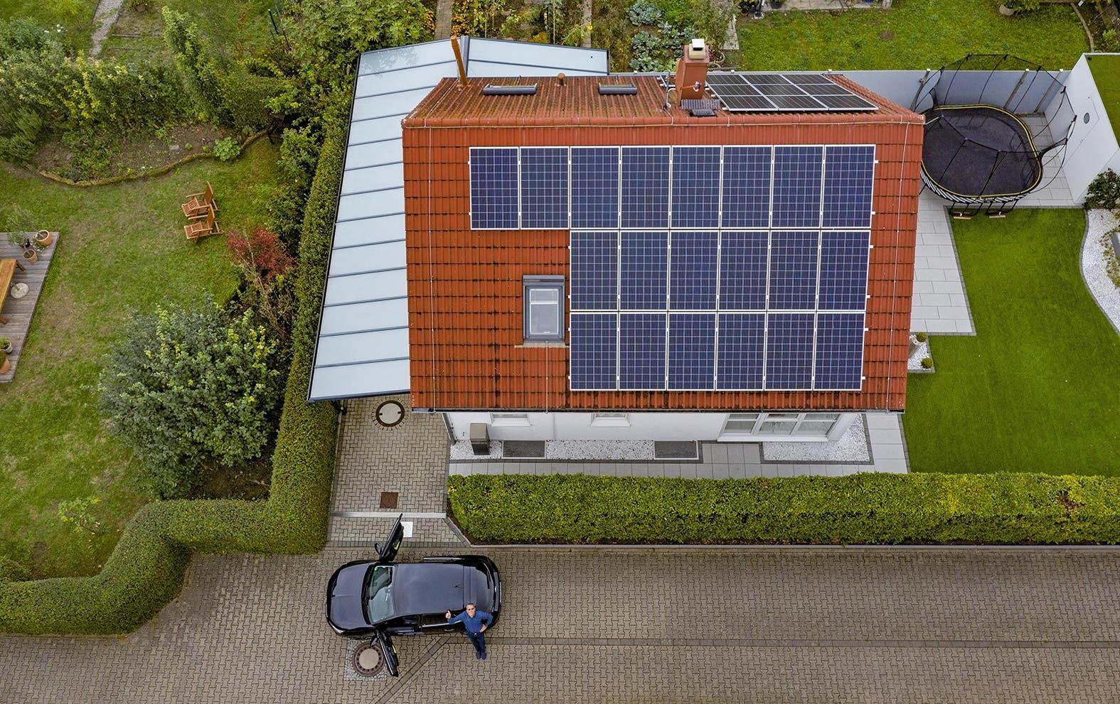 Opel Corsa-e sistema pannelli solari