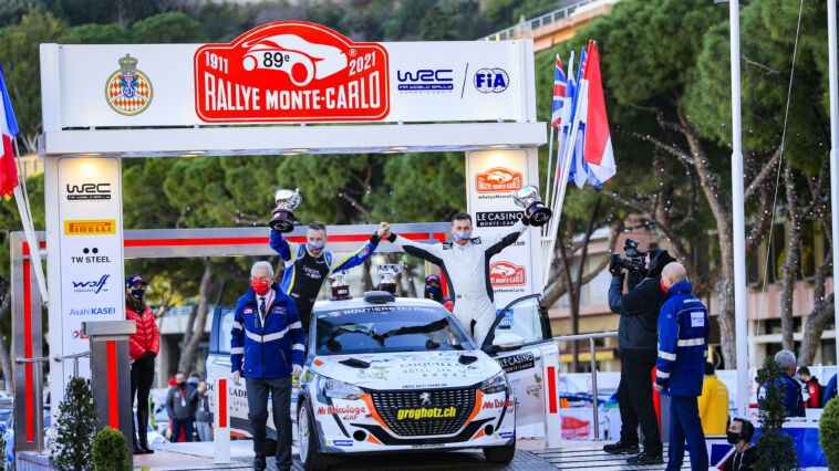 Peugeot 208 Rally 4 Rally di Monte Carlo