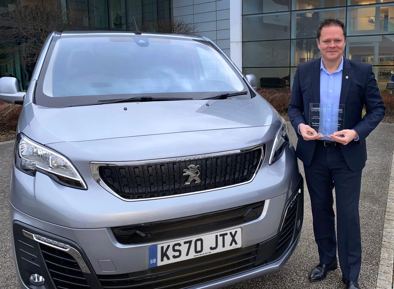 Peugeot Company Car & Van Awards 2021
