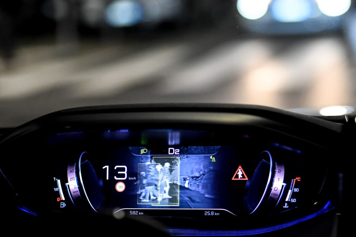 Peugeot Night Vision