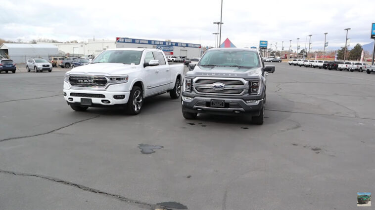 Ram 1500 Limited 2021 vs Ford F-150 Limited 2021