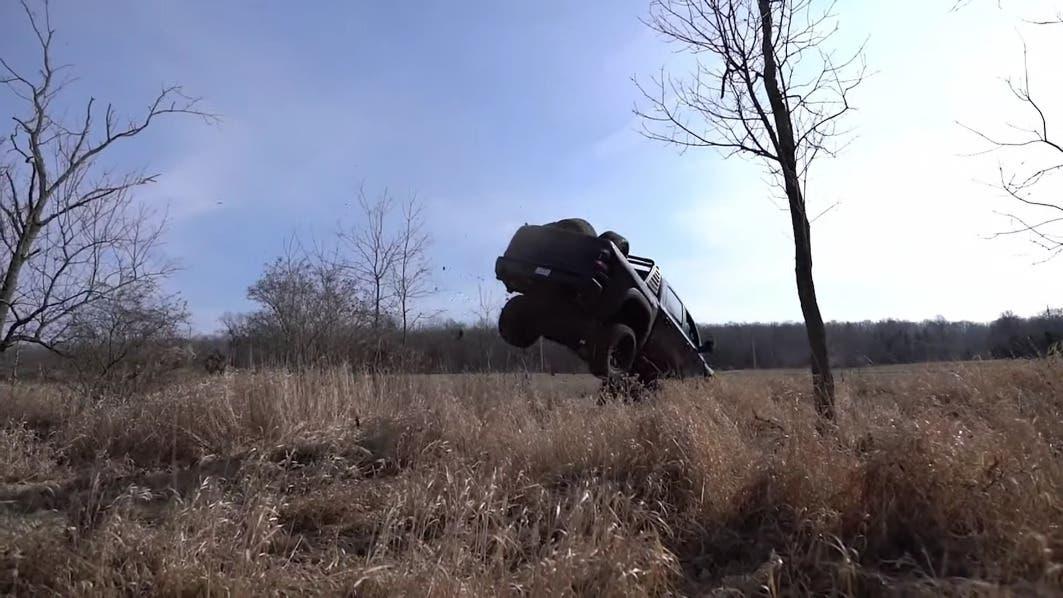 Ram 1500 TRX salto