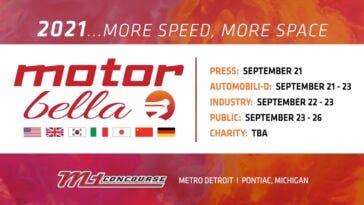 Salone di Detroit Motor Bella