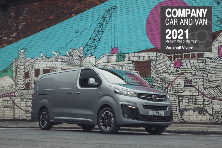 Vauxhall Company Car & Van Awards 2021