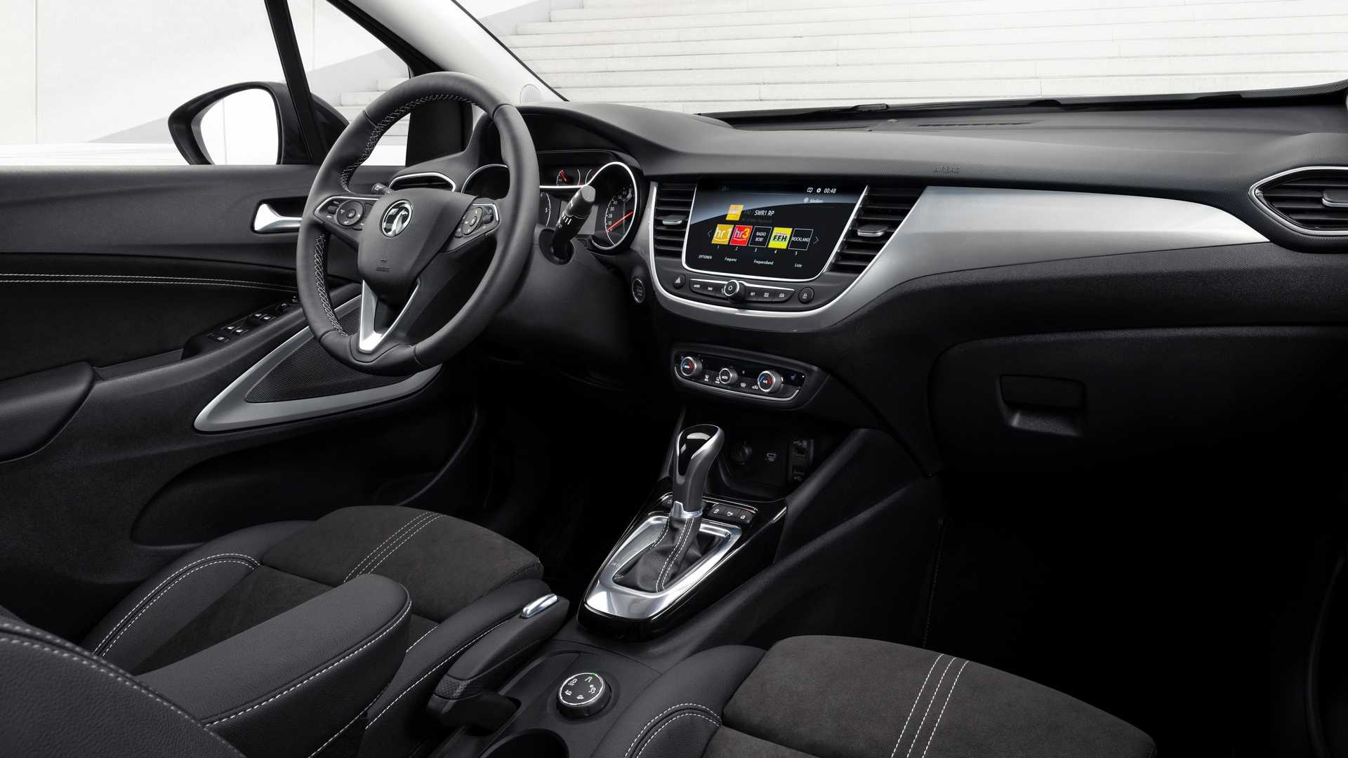 Vauxhall Crossland restyling Regno Unito