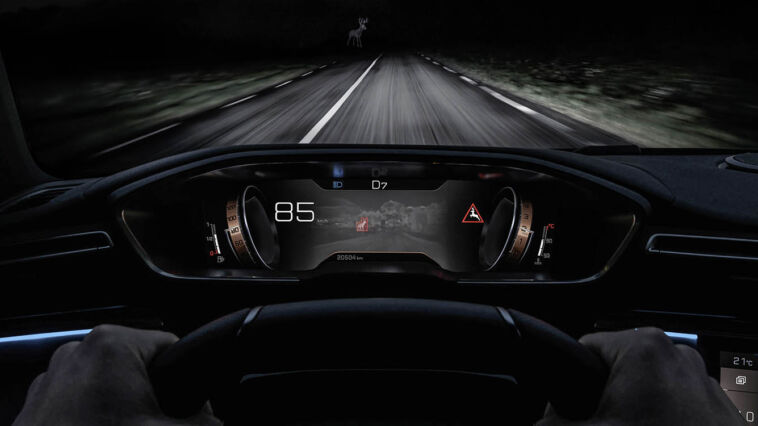 Peugeot Night Vision