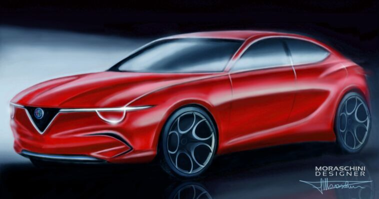 Alfa Romeo Giulietta elettrica