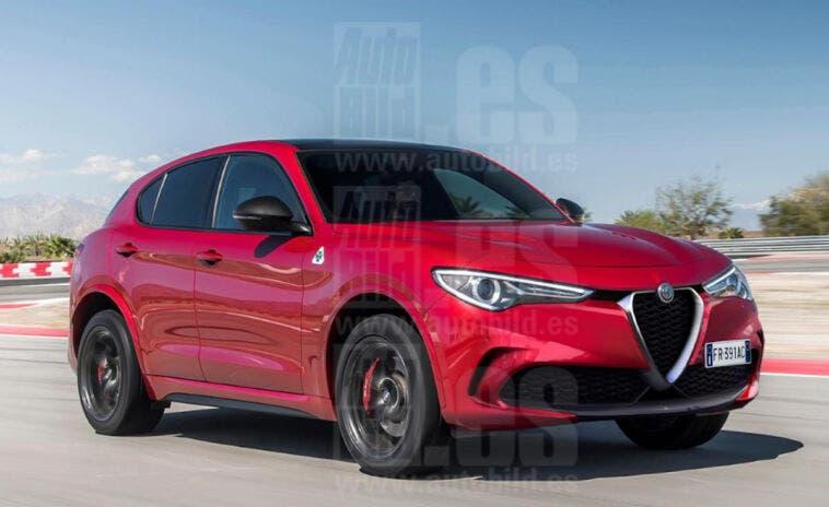 Alfa Romeo Stelvio 2022 render