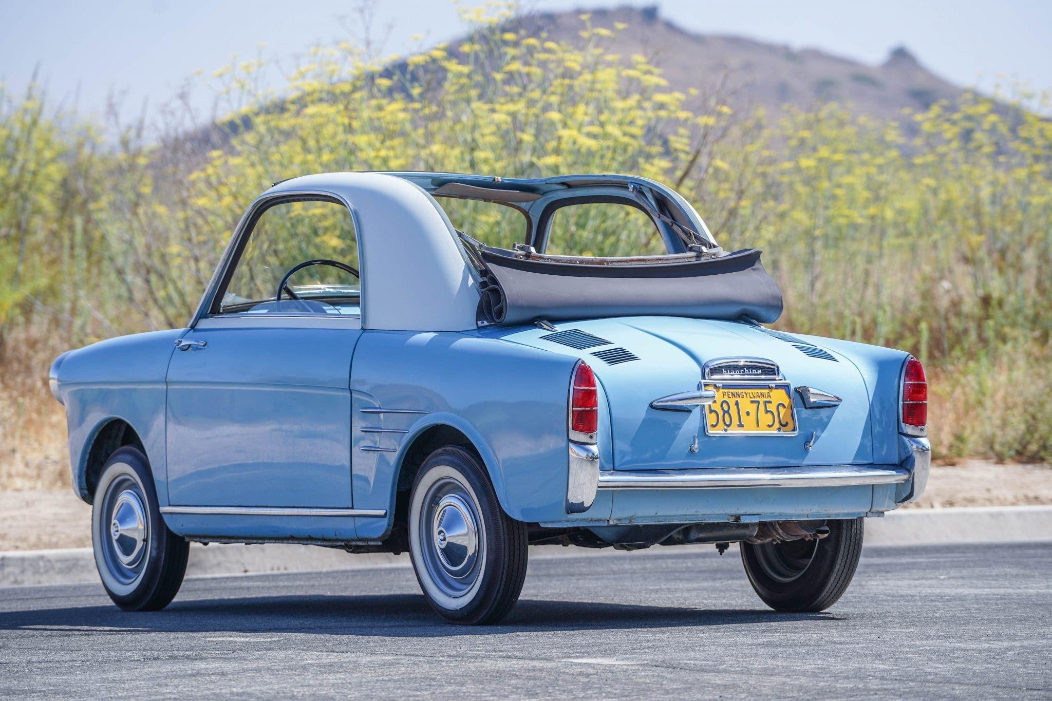 Autobianchi Bianchina Trasformabile 1960 asta