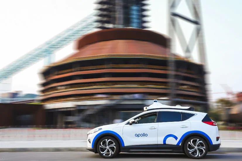 Baidu servizio trasporto autonomo
