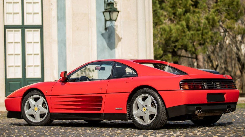 Carlos Menem Ferrari 348 TB