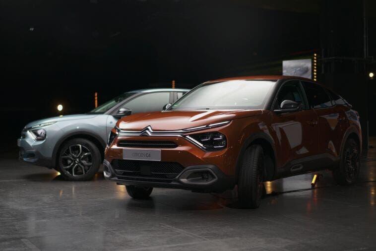 Citroën C4 ed e-C4 diretta streaming Germania