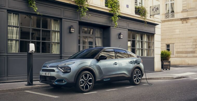 Citroën e-C4 precondizionamento abitacolo