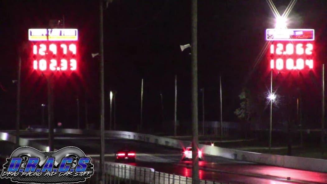 Dodge Challenger vs Honda Accord drag race