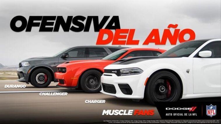 Dodge Ram sponsor NFL Messico