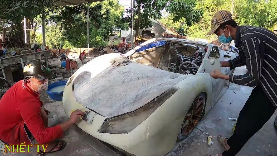 Ferrari 488 GTB home made