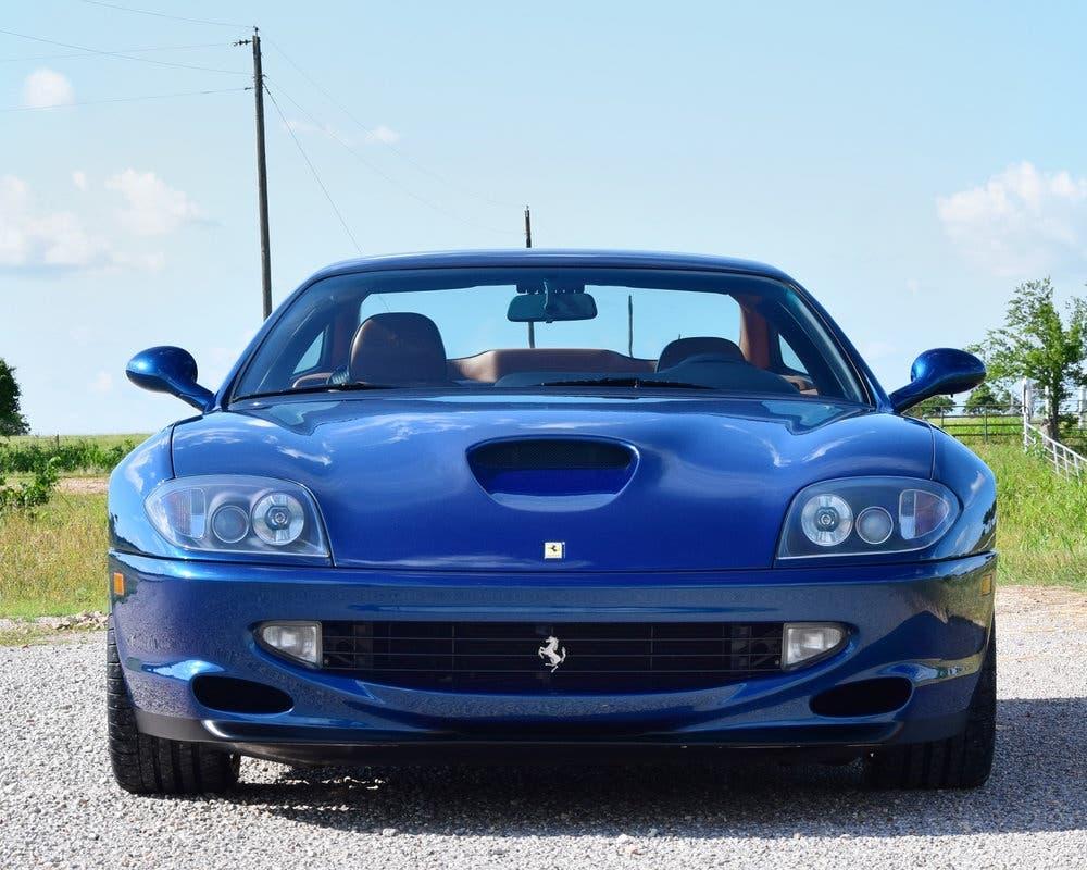 Ferrari 550 Maranello Blue Navy