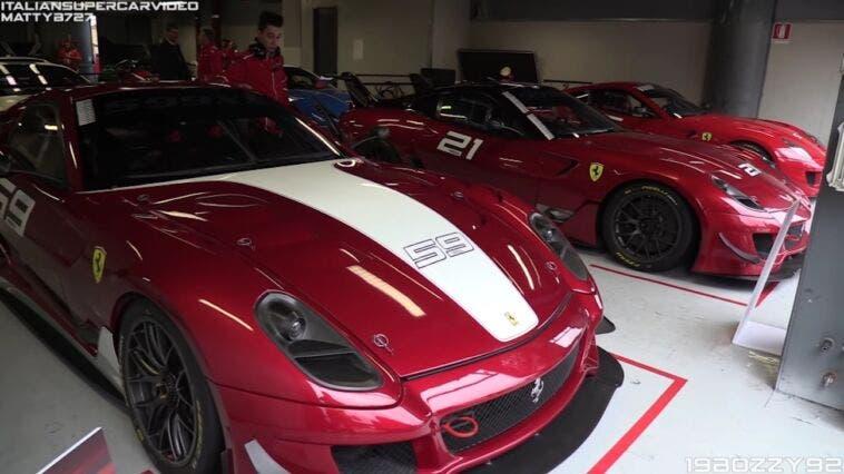 Ferrari 599XX Evo compilation