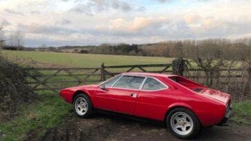 Ferrari Dino 308 GT4 rubata