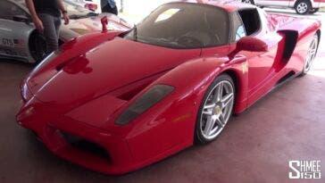 Ferrari Enzo scarico dritto