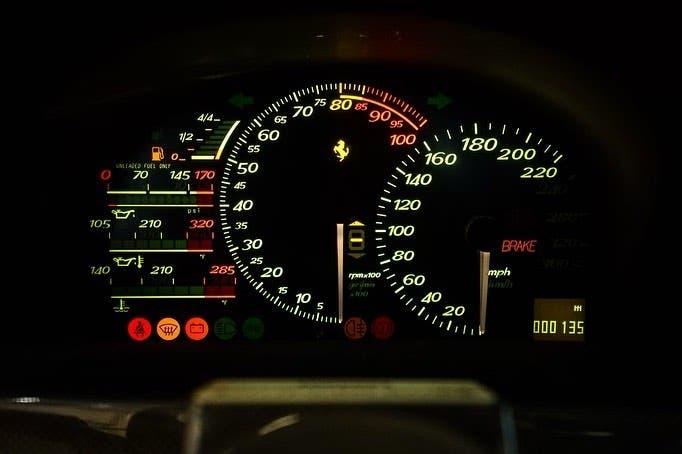 Ferrari F50 pochi km