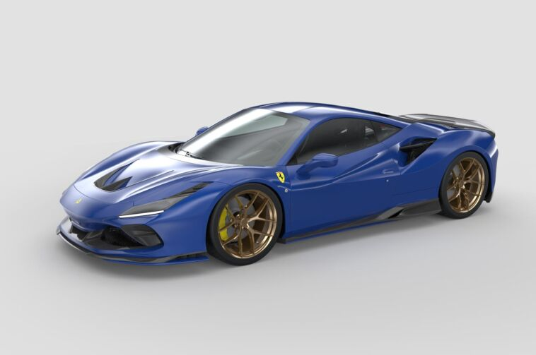 Ferrari F8 Tributo body kit 3D