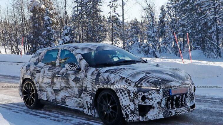 Ferrari Purosangue prototipo Svezia foto spia