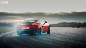 Ferrari Roma trailer Top Gear