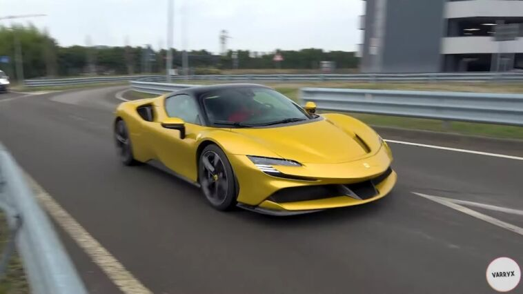 Ferrari SF90 Spider full electric