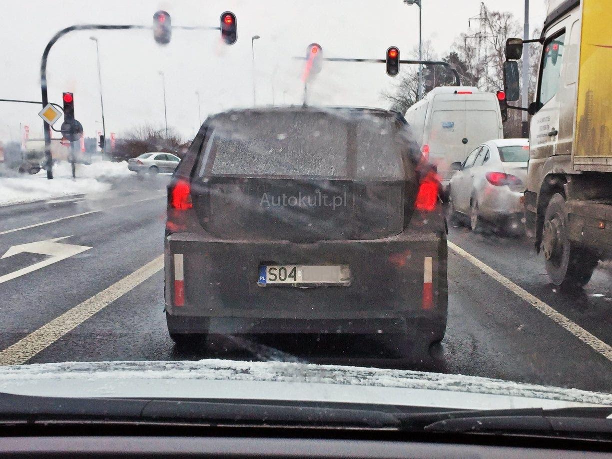 Fiat Argo SUV foto spia Polonia