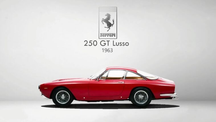 Frank Stephenson tre Ferrari preferite