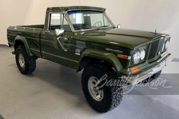 Jeep Gladiator 1970 restaurato asta