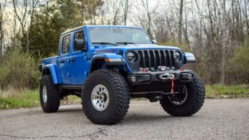 Jeep Gladiator Hellcat Hydro Blue