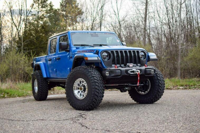 Jeep Gladiator Hellcat Hydro Blue