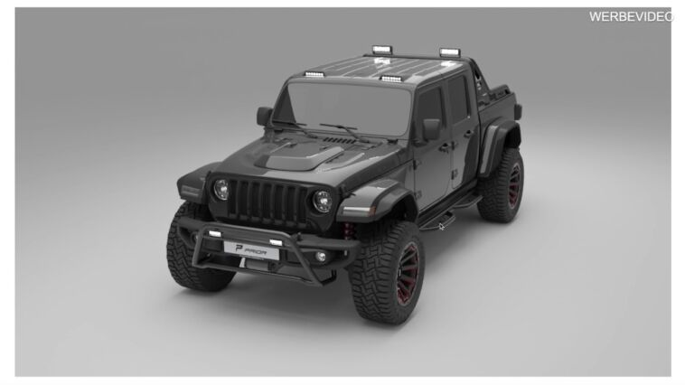 Jeep Gladiator Rubicon Prior Design