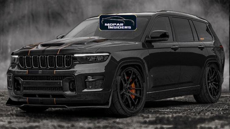 Jeep Grand Cherokee Trackhawk nuova generazione render