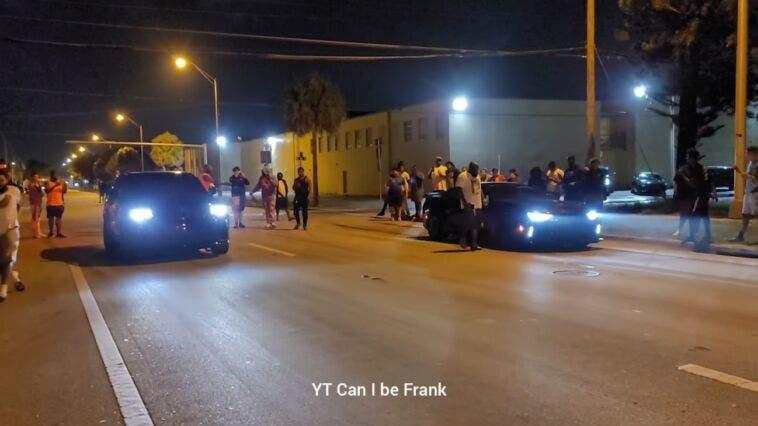 Jeep Grand Cherokee Trackhawk vs Chevrolet Camaro ZL1 drag race