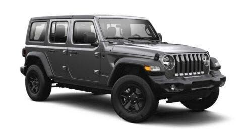 Jeep Wrangler 2021 pelette colori