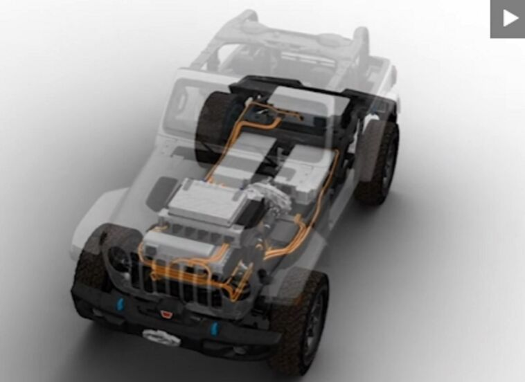 Jeep Wrangler elettrica concept