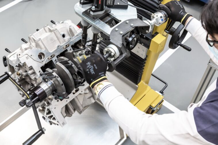 Maserati Nettuno V6 Engine Lab