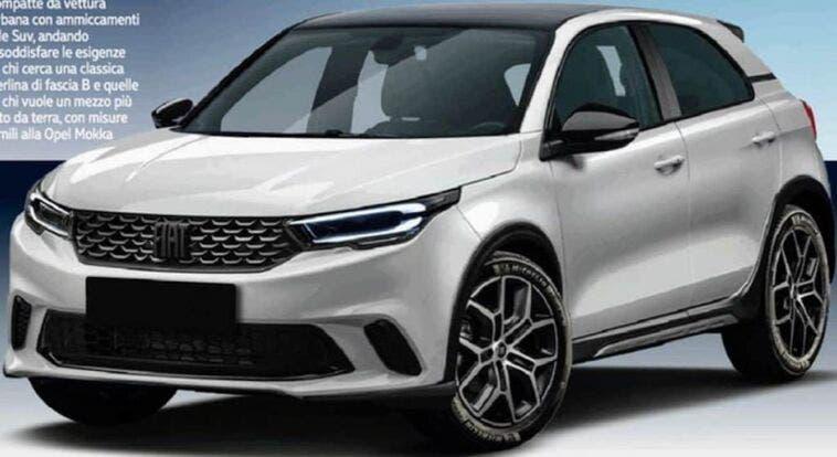 Nuova Fiat Punto crossover render