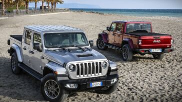 Nuovo Jeep Gladiator Europa