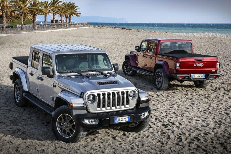 Nuovo Jeep Gladiator Europa