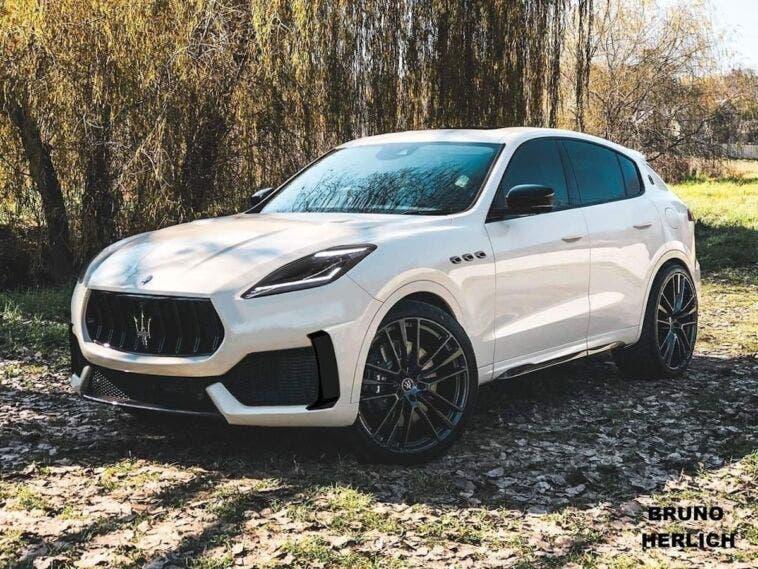 Nuovo Maserati Grecale render