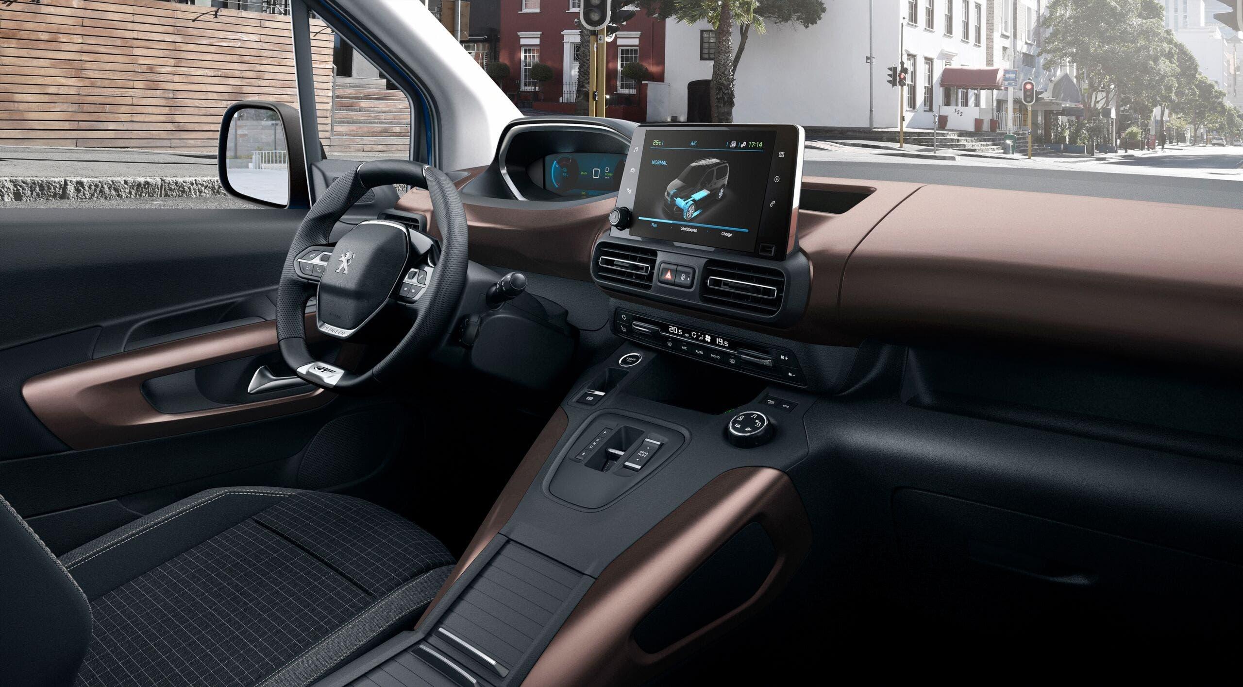Nuovo Peugeot e-Rifter
