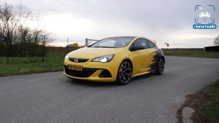 Opel Astra J OPC test