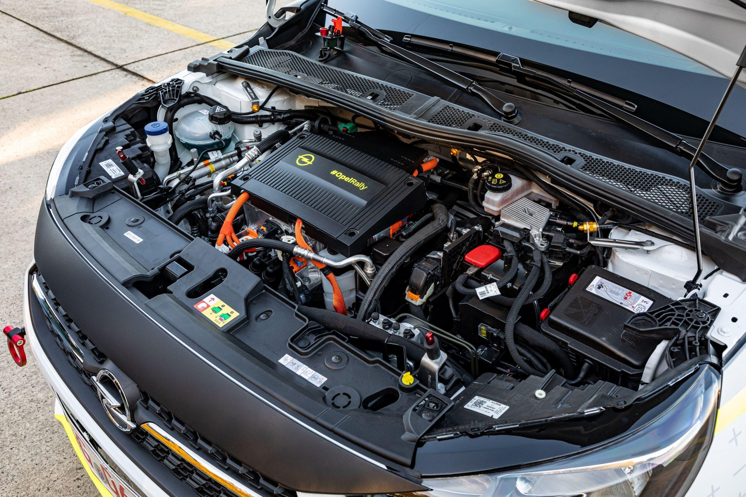 Opel Corsa-e Rally pronta