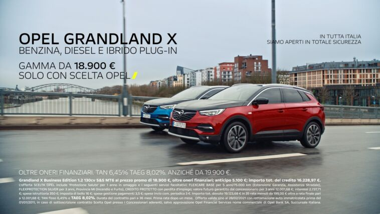 Opel Grandland X PHEV spot Mika