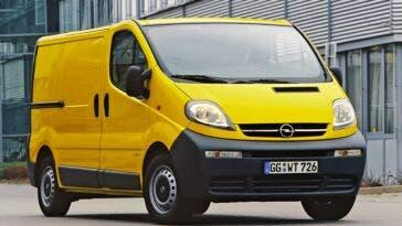 Opel Vivaro 20° compleanno