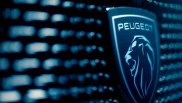 Peugeot 308 2022 nuovo logo
